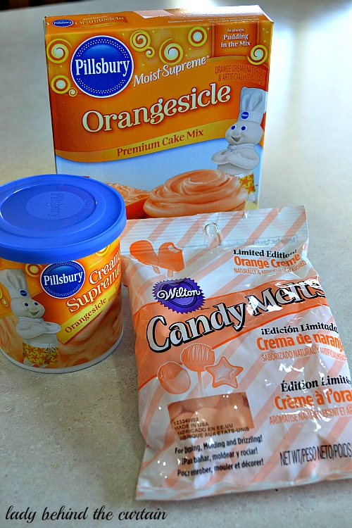 Orange Creme Sandwich Cookies With Cake Mix