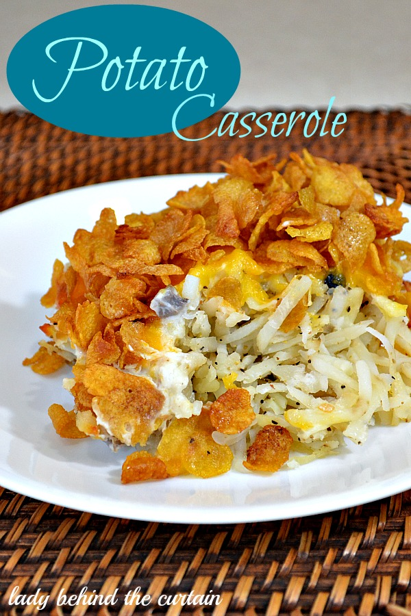 Lady Behind The Curtain - Potato Casserole