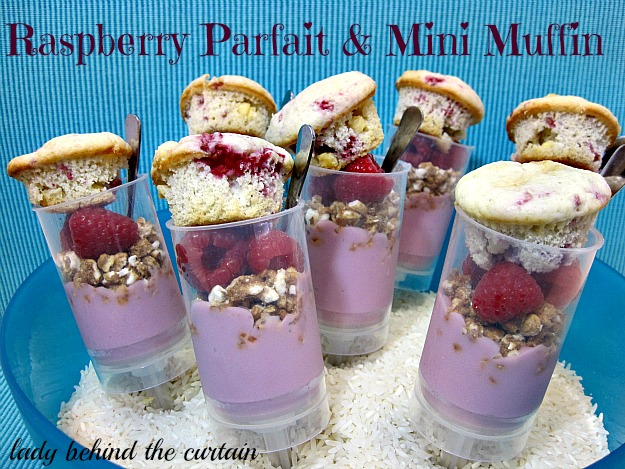 Lady-Behind-The-Curtain-Raspberry-Parfait-Mini-Muffin