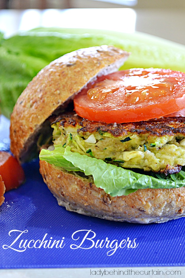 Zucchini Burgers - Lady Behind The Curtain