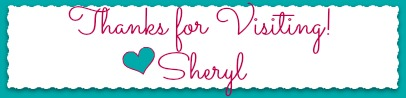 sheryl's NEW signature