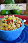 Corn and Pepper Couscous