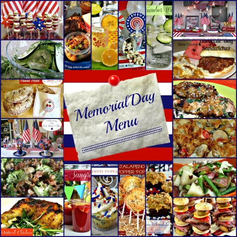 Lady Behind The Curtain - Memorial Day Menu