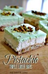 Pistachio Triple Layer Bars