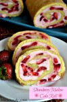 Strawberry Mallow Cake Roll