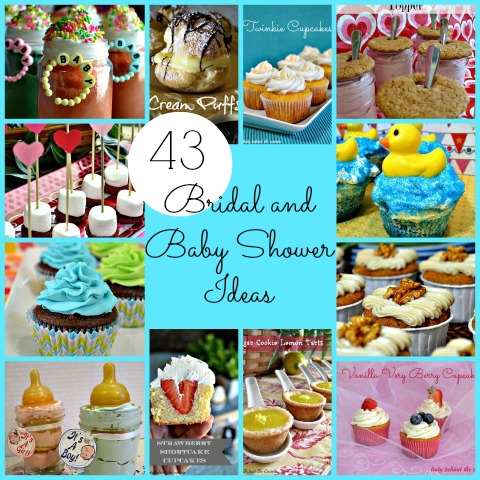 Bridal and Baby Shower Ideas