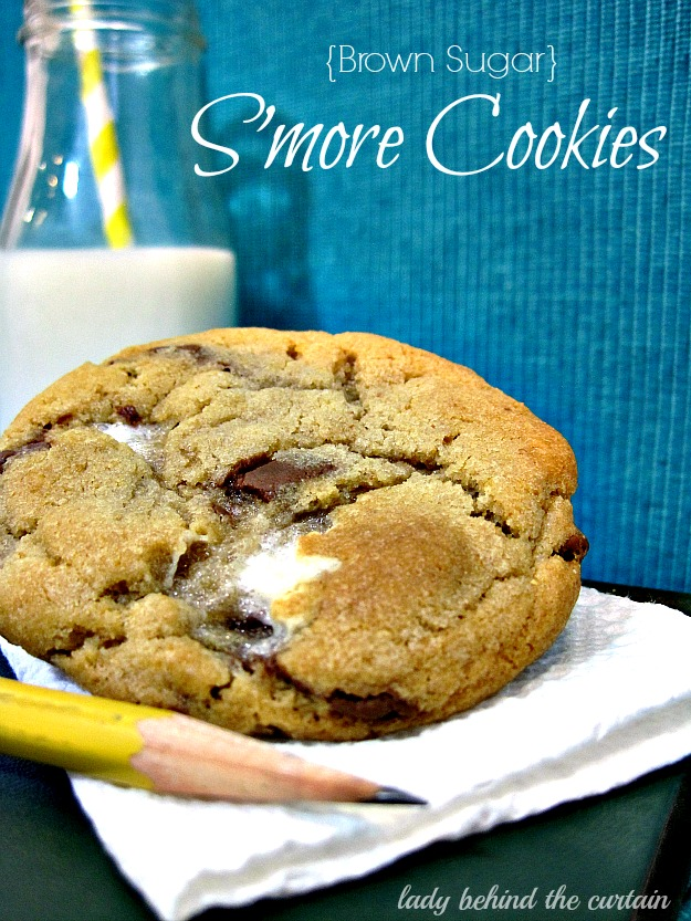 Lady Behind The Curtain - Brown Sugar - S'more Cookies