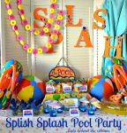 Splish Splash Pool Party!