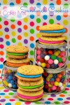 Cake Mix Sandwich Cookies - Lady Behind The Curtain
