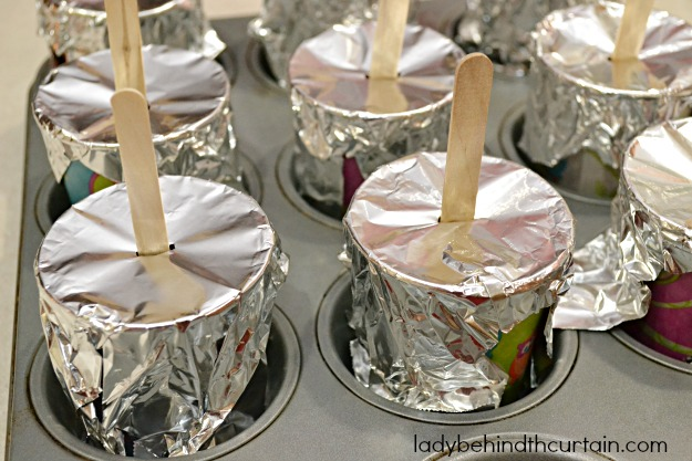 Kid Friendly Sangria Fruit Pops - Lady Behind The Curtain
