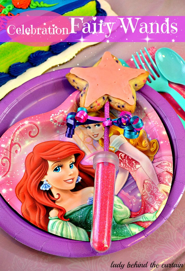 Lady Behind The Curtain A Princess Birthday Party