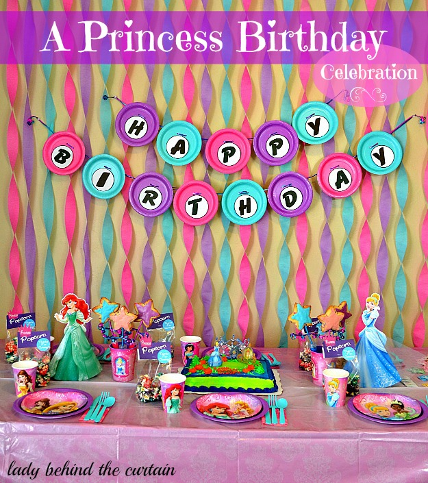 Lady Behind The Curtain - A Princess Birthday Party