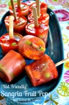 Kid Friendly Sangria Fruit Pops