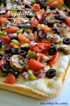 Light Vegetable Pizza