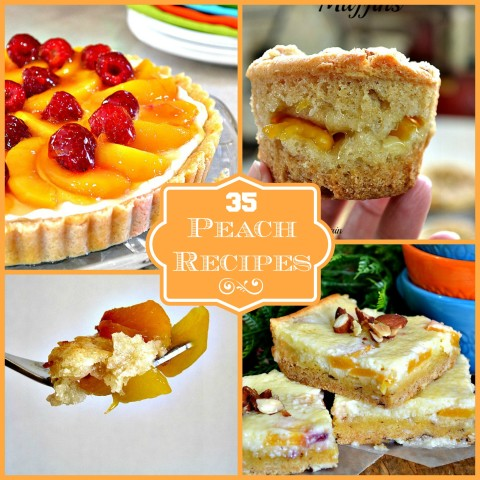 35 Peach Recipes