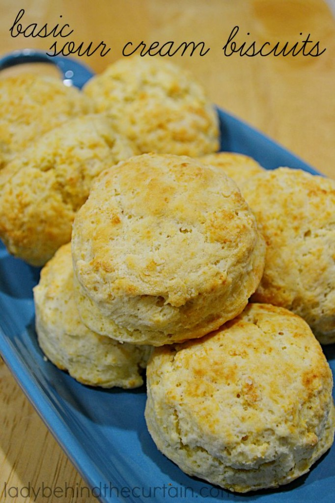 These versatile Basic Sour Cream Biscuits are delicious on their own ...