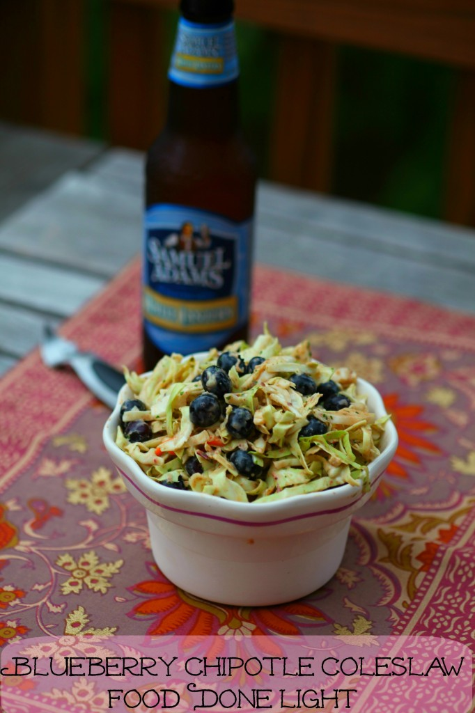 Blueberry Chipotle Coleslaw