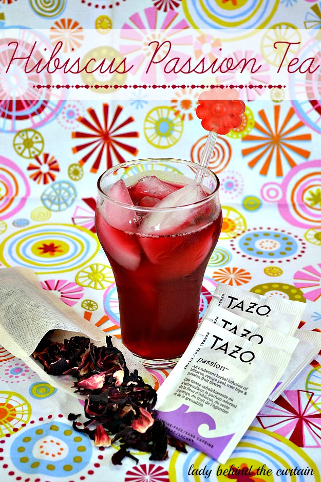 Hibiscus Passion Tea - Lady Behind The Curtain
