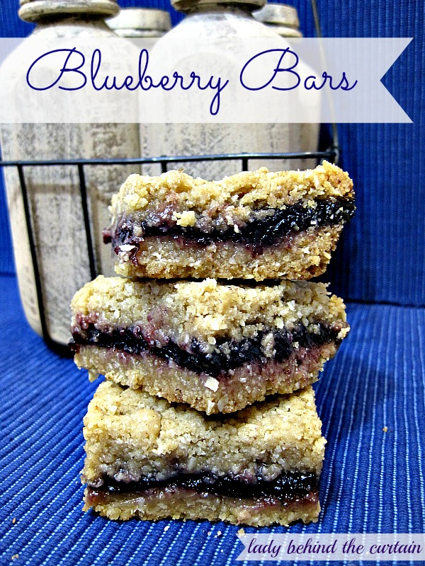 Blueberry Bars - Lady Behind The Curtain