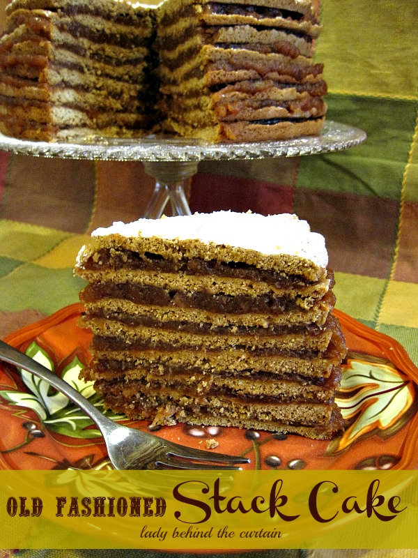 Old Fashion Apple Sauce Layer Cake