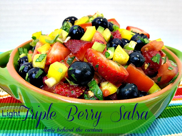 Light Triple Berry Salsa - Lady Behind The Curtain