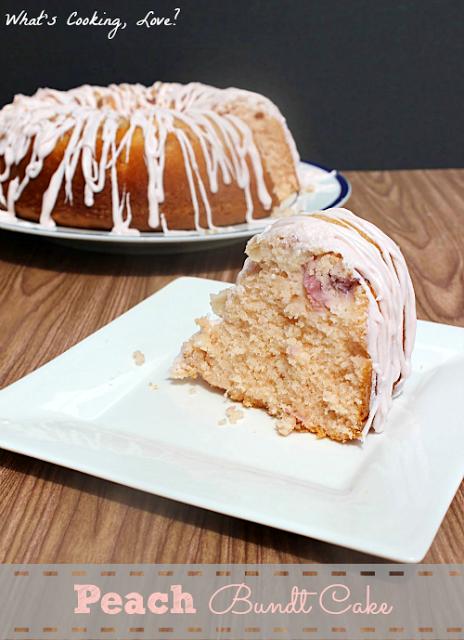 Peach Bundt Cake8