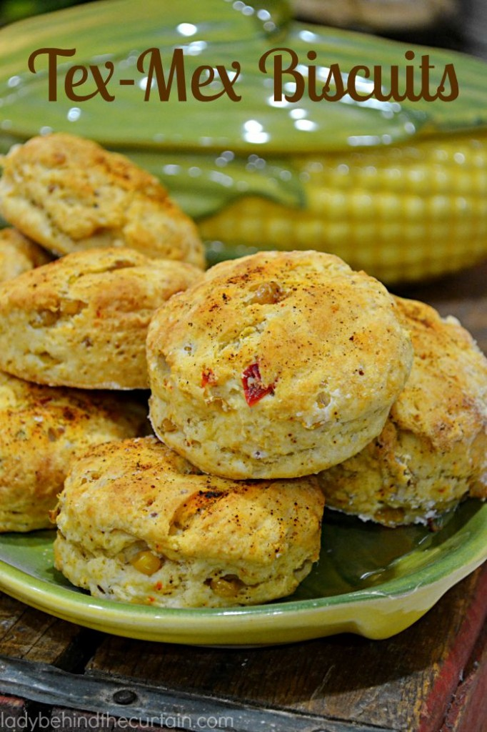 With additions like corn salsa and chili powder these Tex-Mex Biscuits will add some zip to your meal.