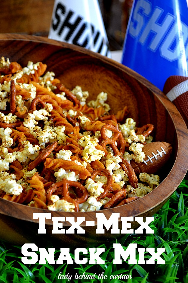 Tex-Mex Snack Mix - Lady Behind The Curtain