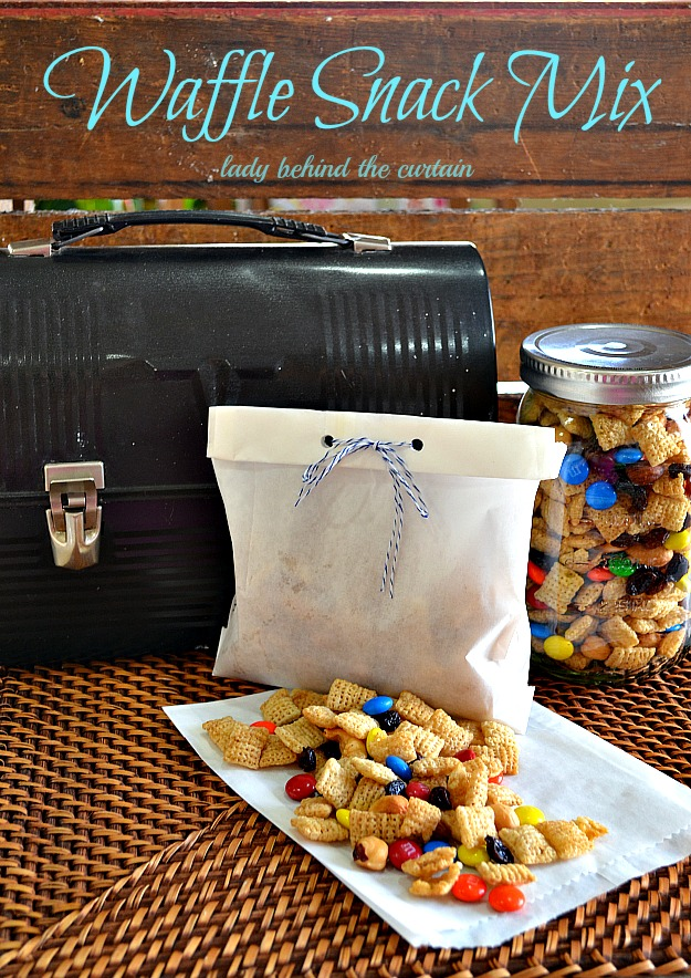 Waffle Snack Mix - Lady Behind The Curtain