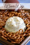 Beer Dip | game day food, easy recipe, dip, beer