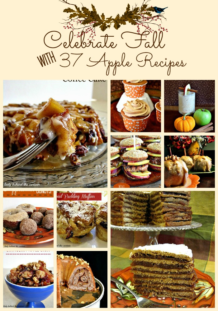 Celebrate Fall with 37 Apple Recipes - Lady Behind The Curtain
