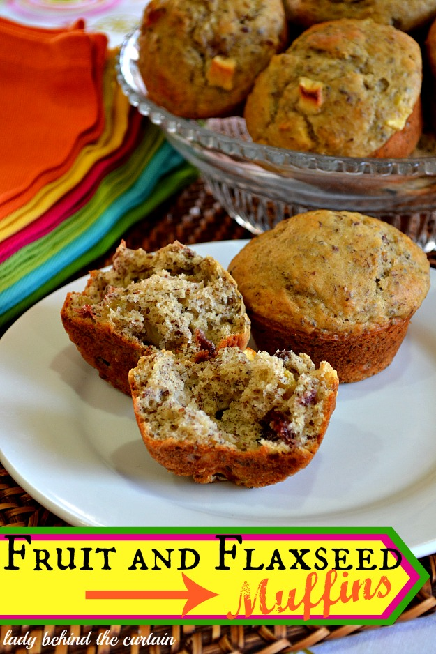 Fruit-and-Flaxseed-Muffins-Lady-Behind-The-Curtain