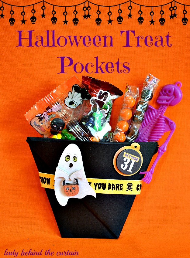 Halloween Treat Pockets - Lady Behind The Curtain