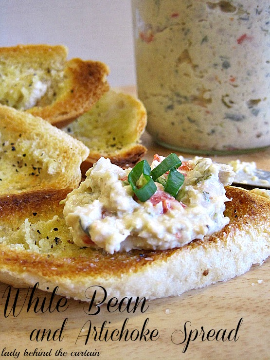 Lady-Behind-The-Curtain-White-Bean-and-Artichoke-Spread