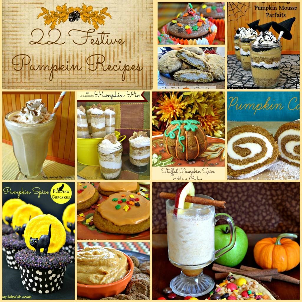 22 Festive Pumpkin Recipes - Lady Behind The Curtain
