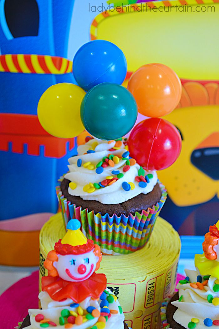 These Carnival Soda Can Cupcakes are made with your favorite soda and cake mix!