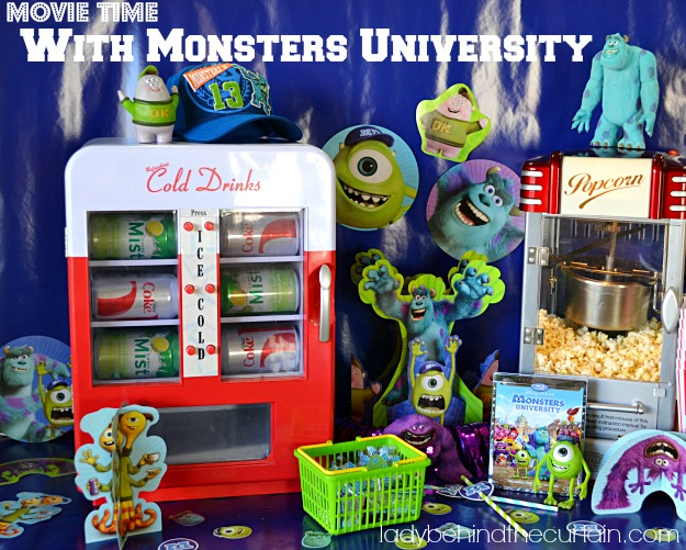 Monsters University Party - Lady Behind The Curtain