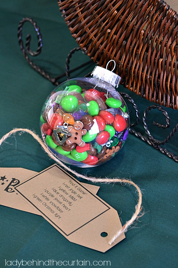 A Holiday Craft with Gingerbread M&M's - Lady Behind The Curtain #shop
