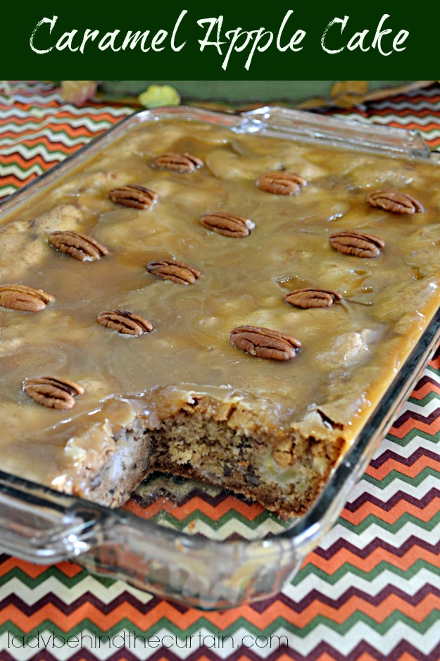 Recipe Apple Cake Caramel Icing