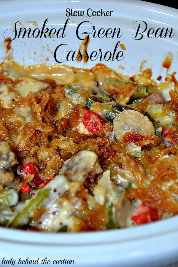 Lady-Behind-The-Curtain-Slow-Cooker-Smoked-Green-Bean-Casserole-2
