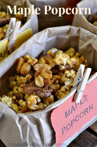 Maple Popcorn - Lady Behind The Curtain