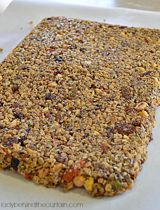 Peanut Butter Energy Bars - Lady Behind The Curtain