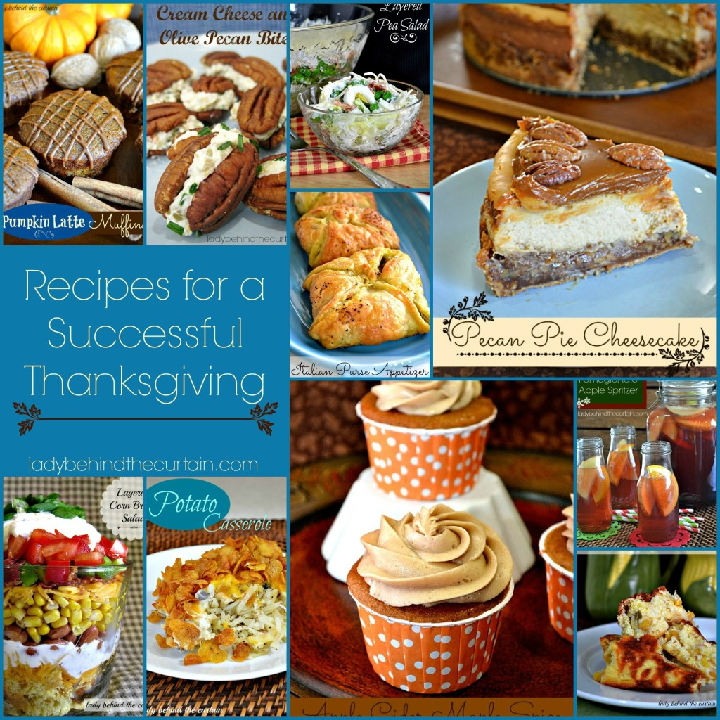 Recipes for a Successful Thanksgiving Day - Lady Behind The Curtain