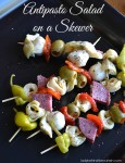 Antipasto Salad on a Skewer