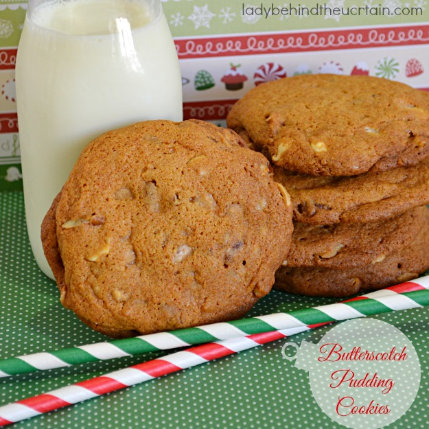 Butterscotch Pudding Cookies - Lady Behind The Curtain