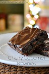 Cherry Cabernet Brownies