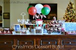 Christmas Dessert Buffet