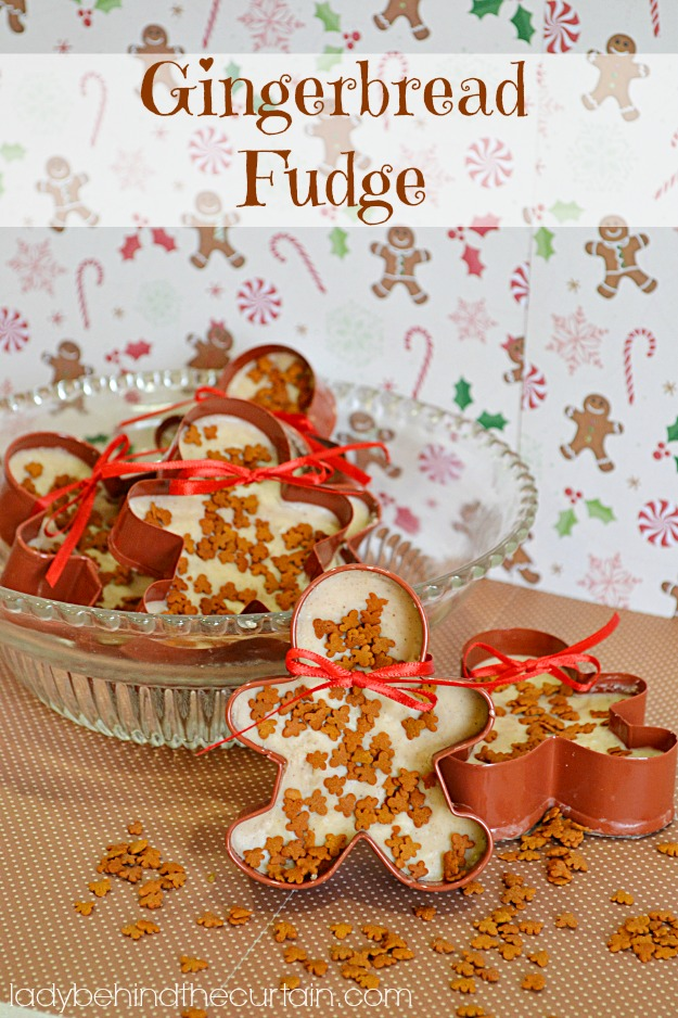 Gingerbread Fudge - Lady Behind The Curtain