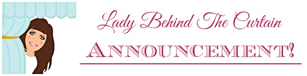 Lady Behind The Curtain Announcement