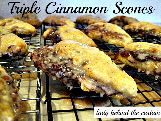 Gingersnap Scones - Lady Behind the Curtain